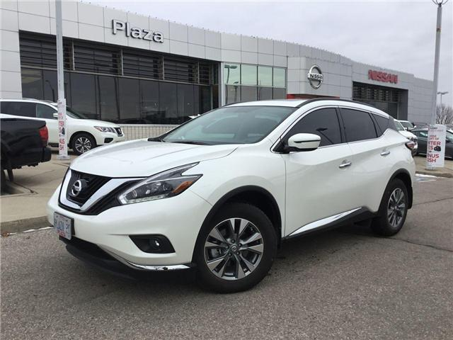 2018 Nissan Murano SV (Stk: A7389) in Hamilton - Image 1 of 26