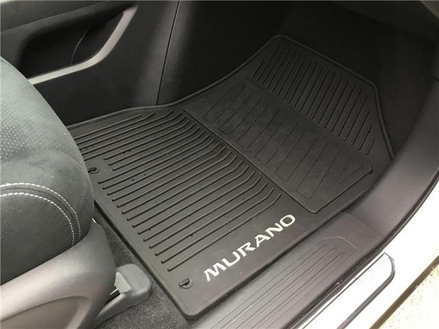 2018 Nissan Murano SV (Stk: A7389) in Hamilton - Image 26 of 26