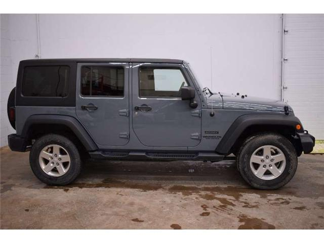 2014 Jeep Wrangler Unlimited Sport 4x4- HARD TOP * CRUISE * A/C (Stk: B2696A) in Kingston - Image 1 of 30