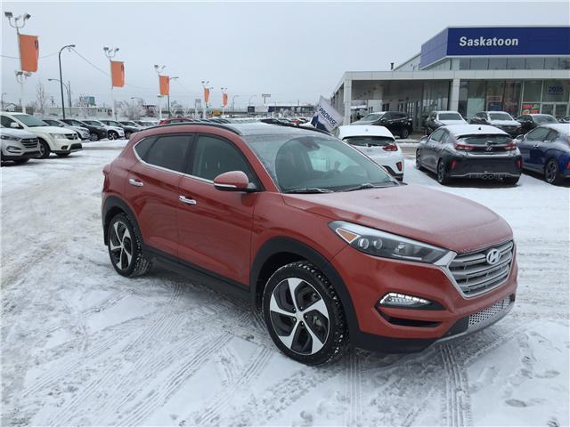 2016 Hyundai Tucson Ultimate (Stk: B7135A) in Saskatoon - Image 1 of 28
