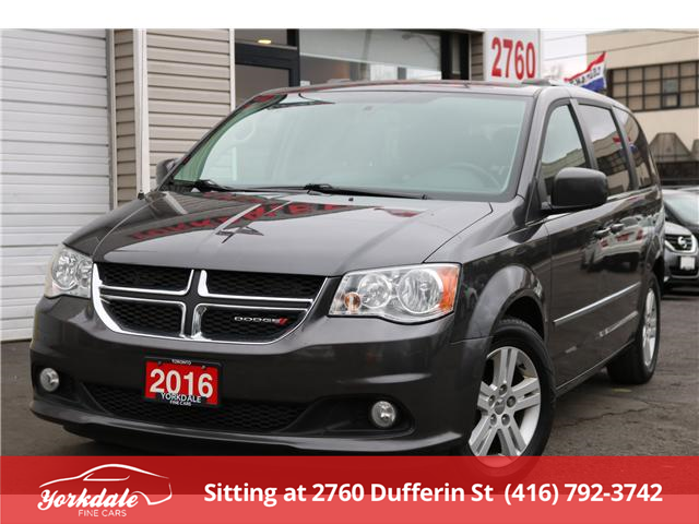 2016 Dodge Grand Caravan Crew (Stk: ) in North York - Image 1 of 27