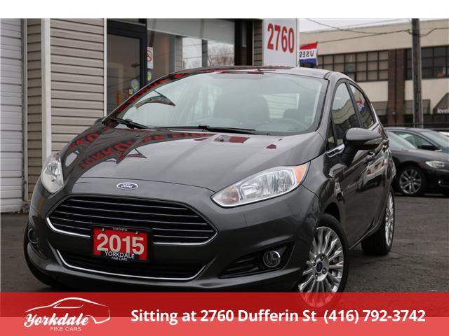 2015 Ford Fiesta Titanium (Stk: ) in North York - Image 1 of 24