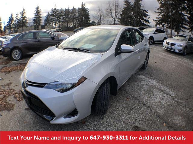2019 Toyota Corolla LE Upgrade Package (Stk: K3241) in Mississauga - Image 1 of 20