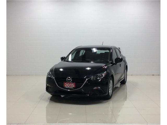 2015 Mazda Mazda3 GS (Stk: M17105B) in Sault Ste. Marie - Image 1 of 13