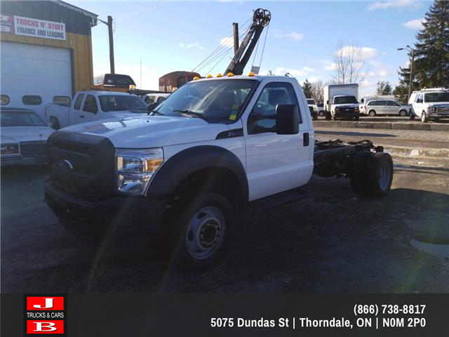 2013 Ford F-550 Chassis XL (Stk: 5509) in Thordale - Image 1 of 9