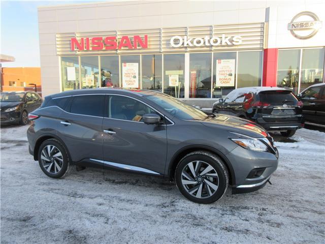 2018 Nissan Murano Platinum (Stk: 8186) in Okotoks - Image 1 of 23