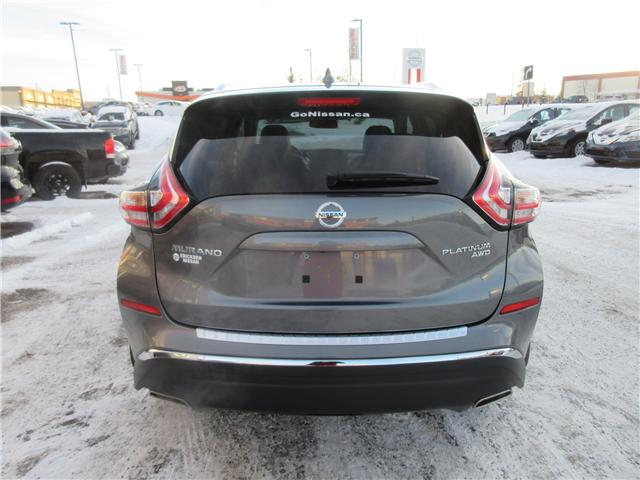 2018 Nissan Murano Platinum (Stk: 8186) in Okotoks - Image 20 of 23