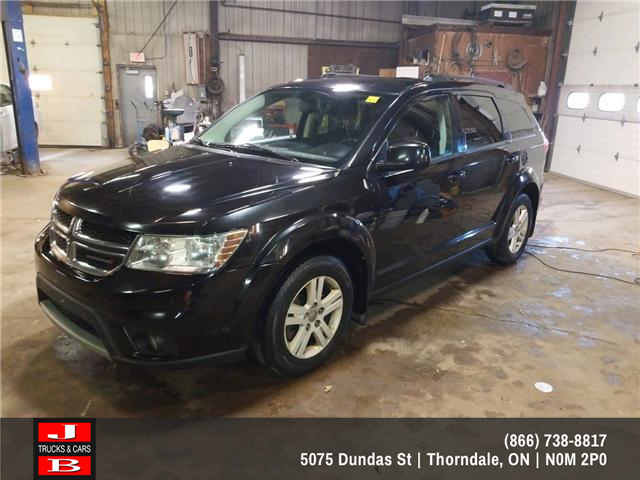 2012 Dodge Journey SXT & Crew (Stk: 5537) in Thordale - Image 1 of 6