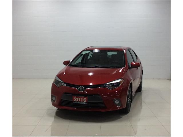 2016 Toyota Corolla LE (Stk: M18272A) in Sault Ste. Marie - Image 1 of 12