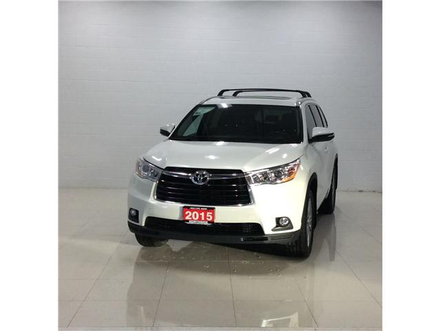 2015 Toyota Highlander XLE (Stk: H19005A) in Sault Ste. Marie - Image 1 of 12