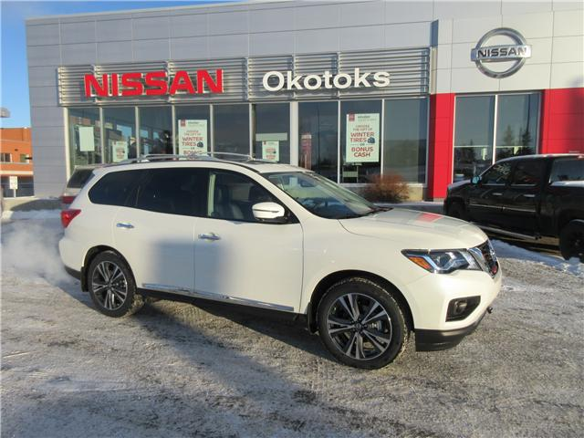 2019 Nissan Pathfinder Platinum (Stk: 8112) in Okotoks - Image 1 of 29