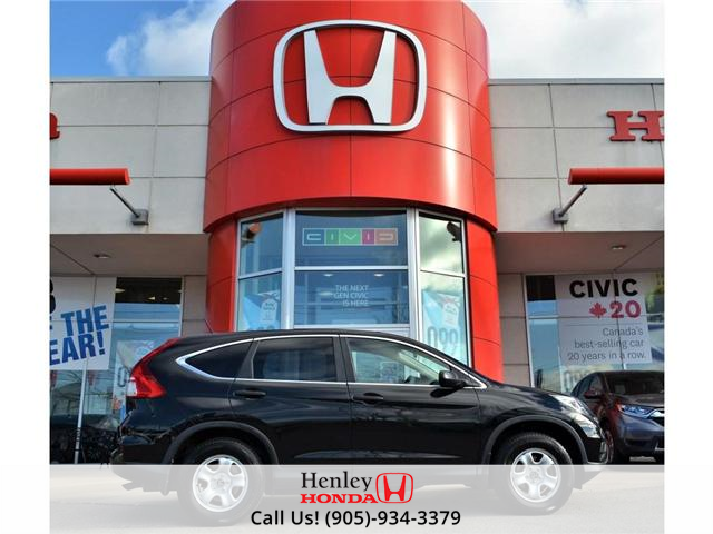 2015 Honda CR-V LX BLUETOOTH HEATED SEATS (Stk: R9262) in St. Catharines - Image 1 of 25