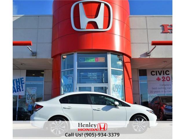 2015 Honda Civic EX SUNROOF ALLOY WHEELS (Stk: B0796) in St. Catharines - Image 1 of 29