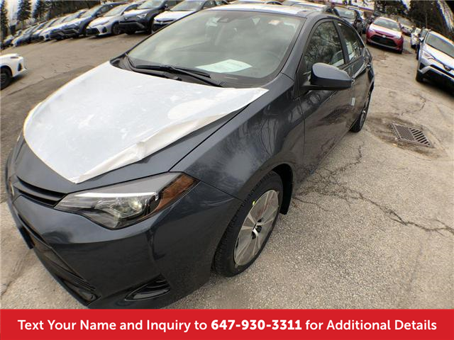2019 Toyota Corolla LE Upgrade Package (Stk: K3267) in Mississauga - Image 1 of 20