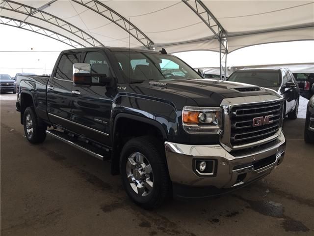 2018 GMC Sierra 2500HD SLT (Stk: 163493) in AIRDRIE - Image 1 of 25