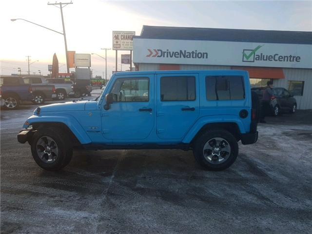 2018 Jeep Wrangler JK Unlimited Sahara (Stk: A2477) in Saskatoon - Image 2 of 20