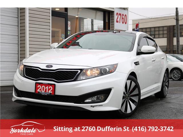 2012 Kia Optima SX (Stk: Y2 5419) in North York - Image 1 of 27