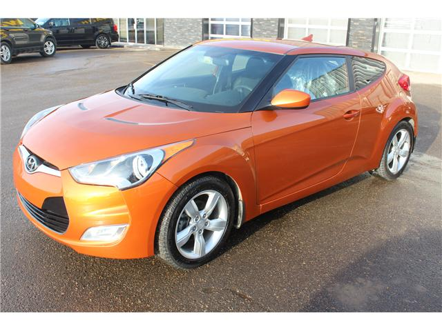 2013 Hyundai Veloster Tech (Stk: P1577) in Regina - Image 1 of 17