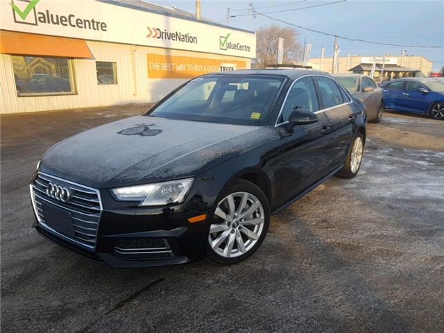 2018 Audi A4 2.0T Komfort (Stk: A2511) in Saskatoon - Image 1 of 22
