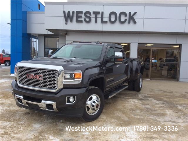 2016 GMC Sierra 3500HD Denali (Stk: T1849) in Westlock - Image 1 of 25