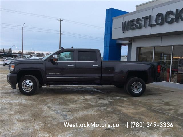 2016 GMC Sierra 3500HD Denali (Stk: T1849) in Westlock - Image 2 of 25