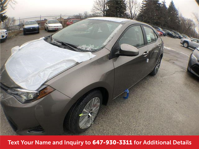 2019 Toyota Corolla LE Upgrade Package (Stk: K3290) in Mississauga - Image 1 of 20