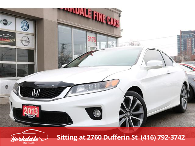 2013 Honda Accord EX-L-NAVI V6 (Stk: D4428) in North York - Image 1 of 22