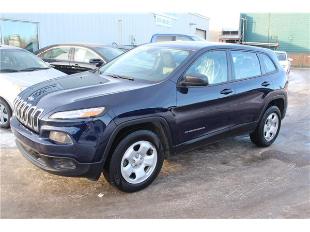 2014 Jeep Cherokee Sport (Stk: P1581) in Regina - Image 1 of 22