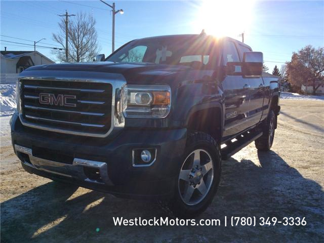 2017 GMC Sierra 2500HD SLT (Stk: T1853) in Westlock - Image 1 of 7