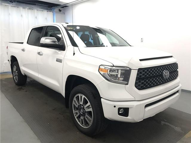 2018 Toyota Tundra Platinum 5.7L V8 (Stk: 197634) in Lethbridge - Image 1 of 21