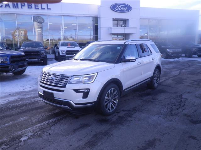 2019 Ford Explorer Platinum (Stk: 1911280) in Ottawa - Image 1 of 14