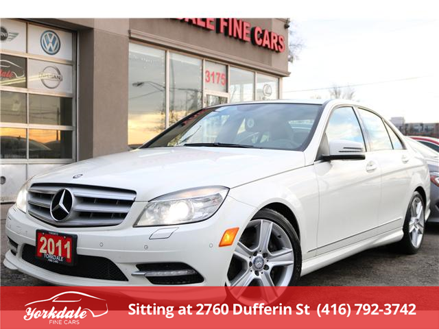 2011 Mercedes-Benz C-Class  (Stk: D2166) in North York - Image 1 of 23
