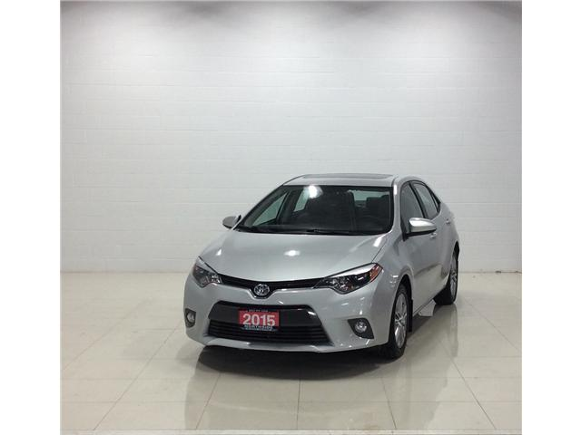 2015 Toyota Corolla LE (Stk: P5129) in Sault Ste. Marie - Image 1 of 11