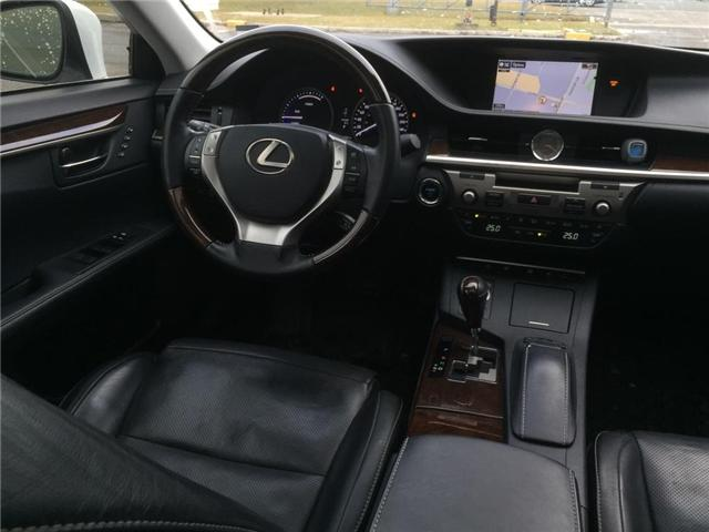 2015 Lexus ES 300h Base (Stk: 082287T) in Brampton - Image 9 of 12