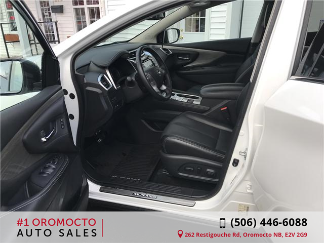 2018 Nissan Murano Midnight Edition (Stk: 340) in Oromocto - Image 10 of 20