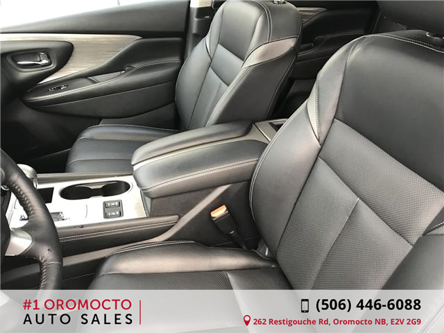 2018 Nissan Murano Midnight Edition (Stk: 340) in Oromocto - Image 11 of 20