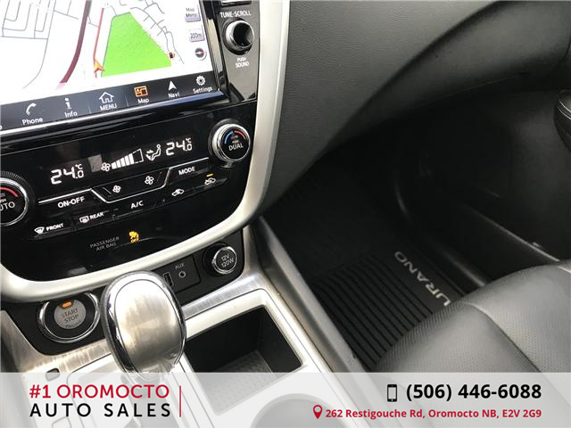 2018 Nissan Murano Midnight Edition (Stk: 340) in Oromocto - Image 13 of 20