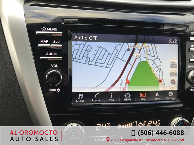 2018 Nissan Murano Midnight Edition (Stk: 340) in Oromocto - Image 14 of 20