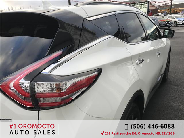 2018 Nissan Murano Midnight Edition (Stk: 340) in Oromocto - Image 16 of 20