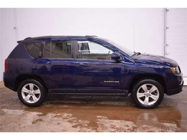 2017 Jeep Compass North 4x4 - HEATED SEATS * LEATHER * SUNROOF  (Stk: B3052) in Kingston - Image 1 of 30