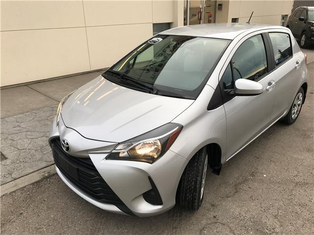 2018 Toyota Yaris LE (Stk: NE107 ) in Calgary - Image 1 of 19