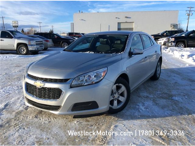 2015 Chevrolet Malibu 1LT (Stk: 19C6A) in Westlock - Image 1 of 5
