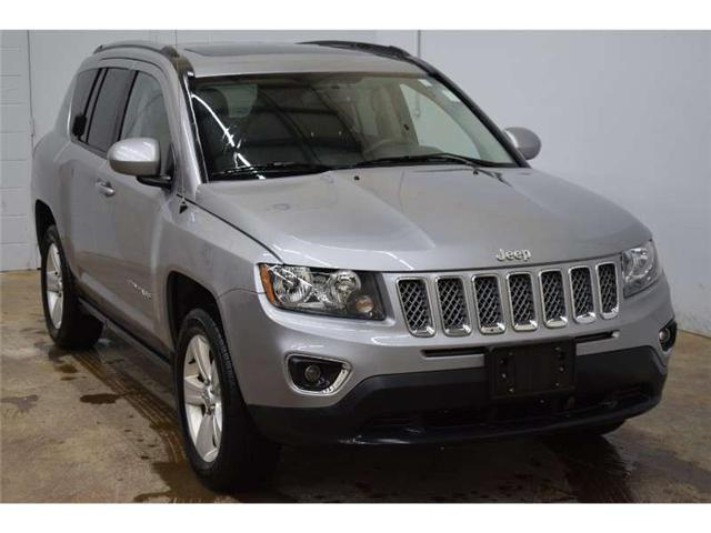 2017 Jeep Compass North - HEATED SEATS * LEATHER * SAT RADIO  (Stk: B3050) in Kingston - Image 2 of 30
