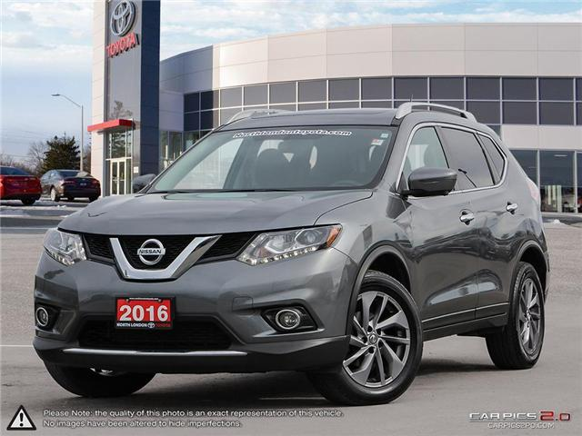 2016 Nissan Rogue S 5N1AT2MV1GC754476 A218907 in London