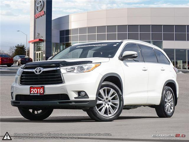 2016 Toyota Highlander XLE (Stk: A218447) in London - Image 1 of 26