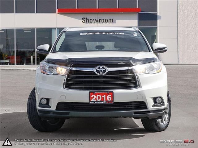 2016 Toyota Highlander XLE (Stk: A218447) in London - Image 2 of 26