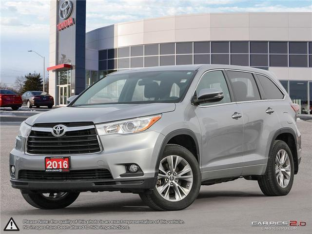 2016 Toyota Highlander LE (Stk: A218977) in London - Image 1 of 27