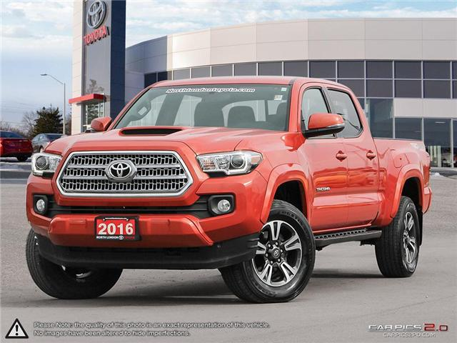 2016 Toyota Tacoma SR5 (Stk: A218692) in London - Image 1 of 27