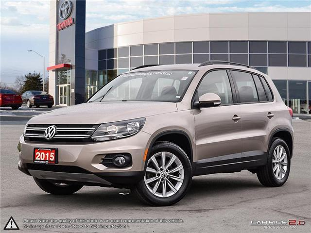 2015 Volkswagen Tiguan Highline (Stk: U10911) in London - Image 1 of 27