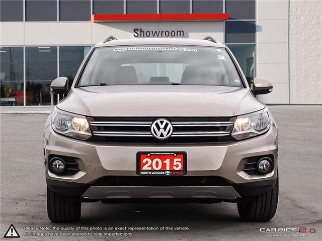 2015 Volkswagen Tiguan Highline (Stk: U10911) in London - Image 2 of 27